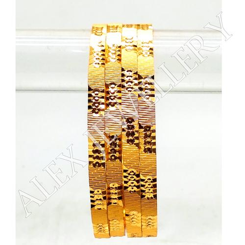 Gold Plated Shagun Bangle for Women