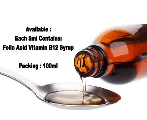 Folic Acid Vitamin B12 Syrup