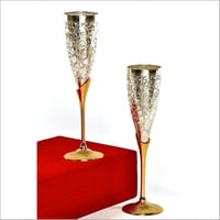Silver Plated Bar Glasses