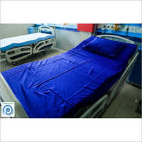 Hospital Blue Bed Sheets