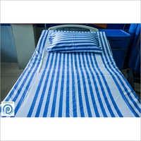Striped Hospital Bed Sheets