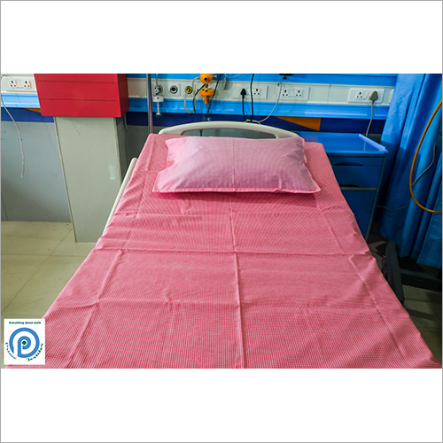 Solid Plain Hospital Bed Sheet