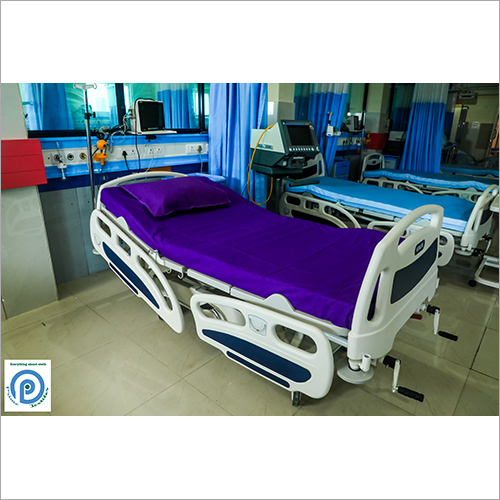 Cotton Blue Hospital Bed Sheet