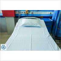 White Hospital Bed Sheet