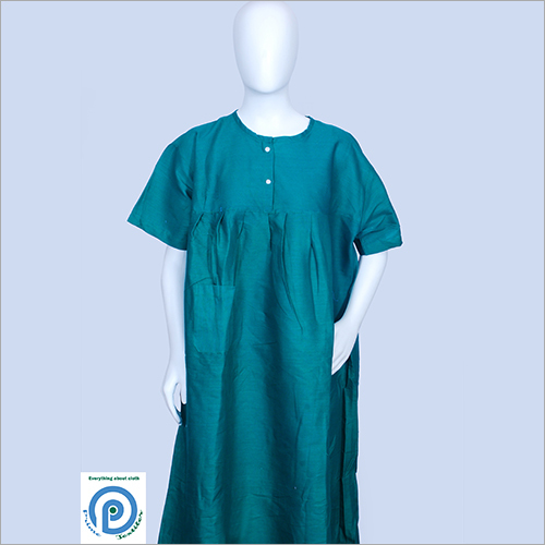 Full Length Nurse Green Gown