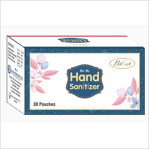 30 Pouches Hand Sanitizer