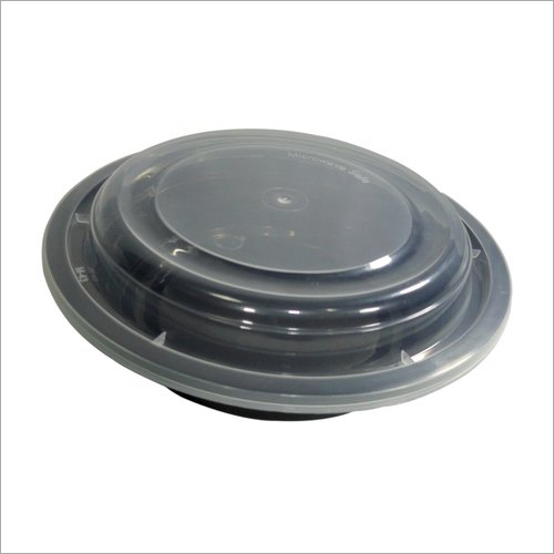 Disposable Round Plastic Container