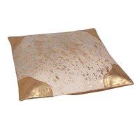 Shiny Leather Cushion