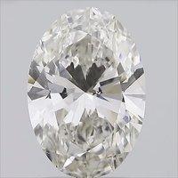 CVD 2.01ct H VS2 OVAL Cut Diamond