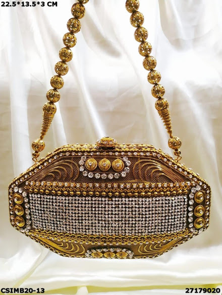 Exclusive Handcrafted Metal Bags