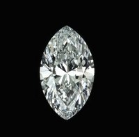 CVD Diamond 0.50ct F SI1 Marquise Shape IGI Certified Stone TYPE2A