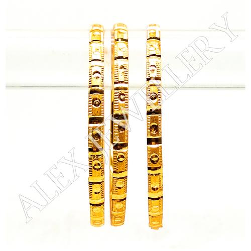 Latest Gold plated shagun Bangle For Women