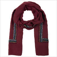 Premium Cotton Pleated Scarf