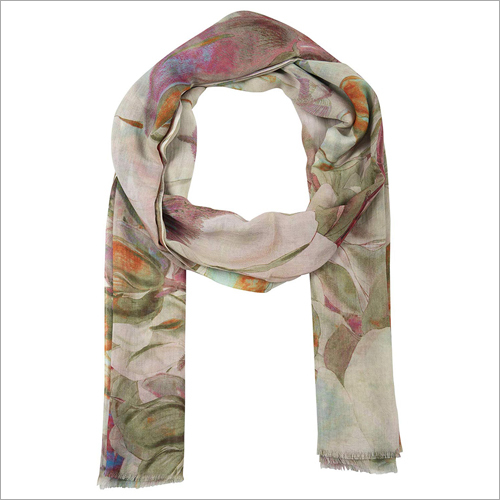 Visstosso Cotton Printed Scarf