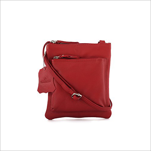 Visstosso Red Sling Bag
