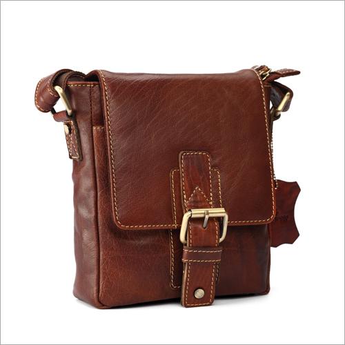 Visstosso Genuine Leather Messenger Bag