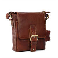Visstosso Genuine Leather Messenger Bag