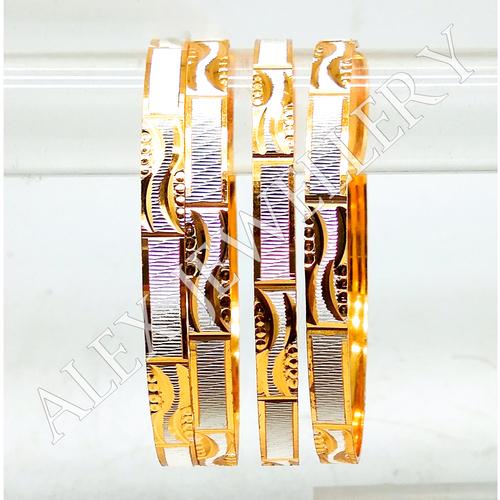 Stylish Design Jewellery Gold Plated Shagun Bangle