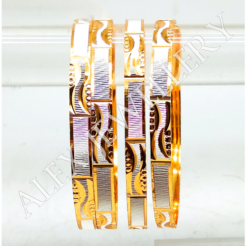 Stylish Design jewellery Gold Plated Shagun Bangle