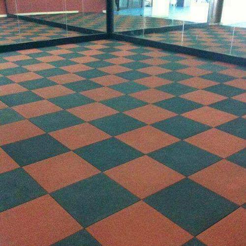 Sports Rubber Flooring Tile