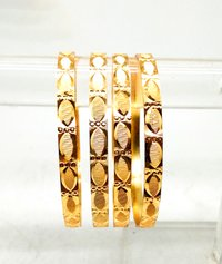 Latest Stylish Design Gold Plated Bangle