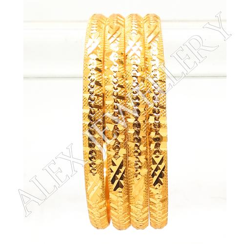 Latest Design Gold plated shagun Bangle