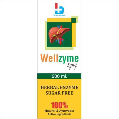 200ml Herbal Enzyme Sugar Free Syrup