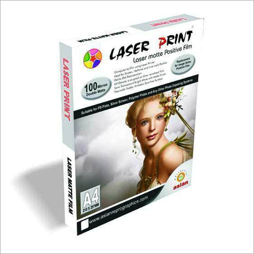 Laser Matte Positive Film