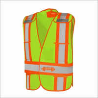 Economy High Visibility Safety Mesh Vest