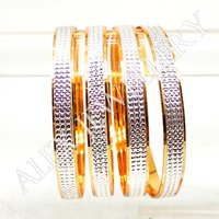 Artificial Jewellery Gold Plated Shagun Bangle