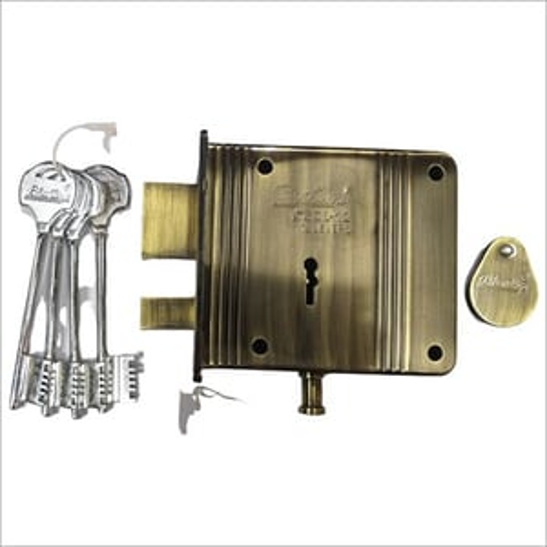 Stainless Steel Main Door Lock 12 Lever