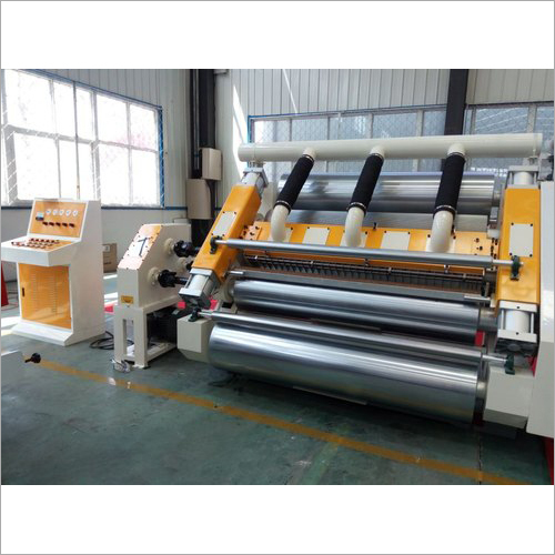 Fingerless Type Single Facer Slitter Machine