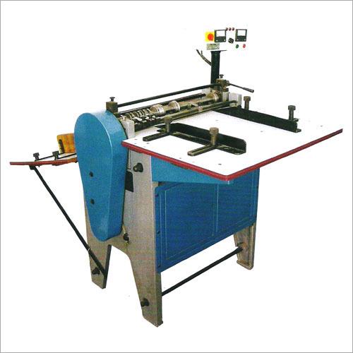 Title Creasing And Perforating Half Sticker Cutting Machine