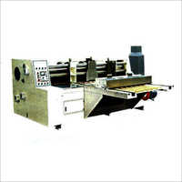 Automatic Feeding Combine Creasing and Slotting Machine