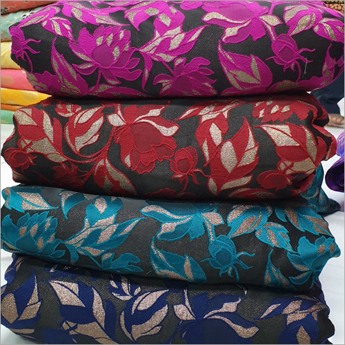 Heavy Lycra Jacquard Fabric