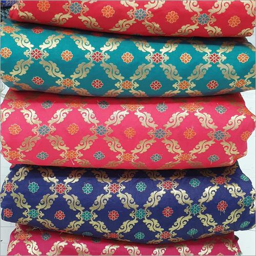 Tafeta Multi Meena Jacquard Fabric