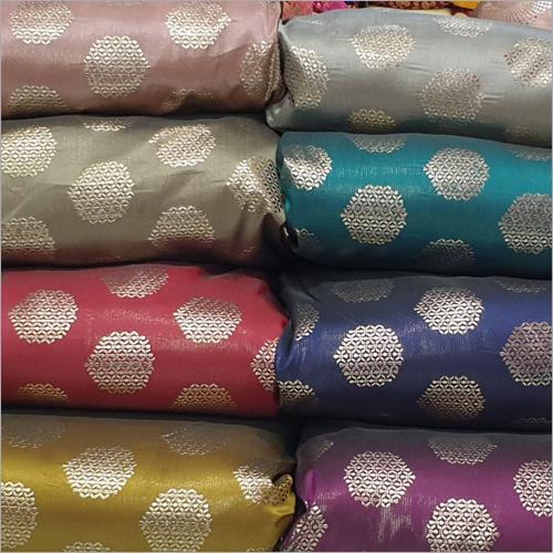 Flat Foil Jacquard Fabric