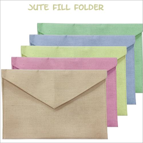 Jute Fill Folder
