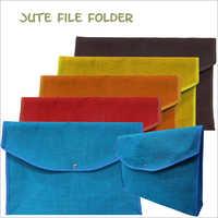 Jute Office File Folder