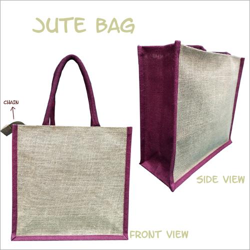 Jute Plain Lunch Bag