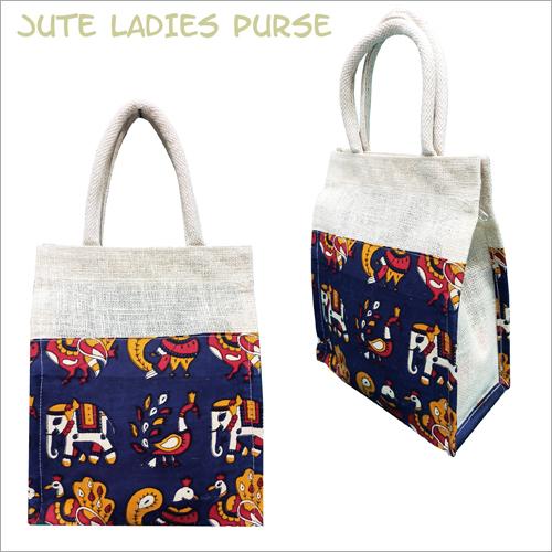 Fancy Jute Lunch Bag