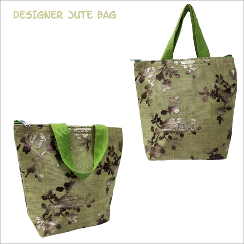 Designer Jute Shoulder Bag