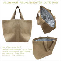 Aluminium Foil Laminated Jute Bag
