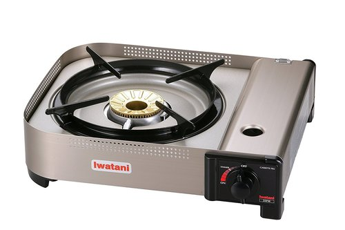 Gas Stove & Butane Gas Can - Iwatani