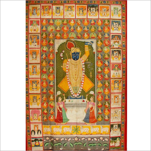 Lord shreenath ji pichwai  Painting
