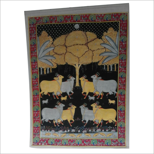 Home Decor Hand Painted Cloth Painting