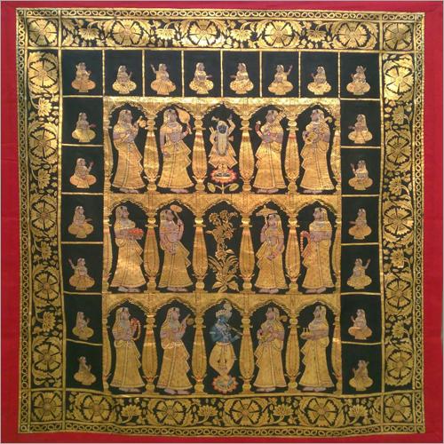 Shrinath Ji Pichwai Cloth Painting