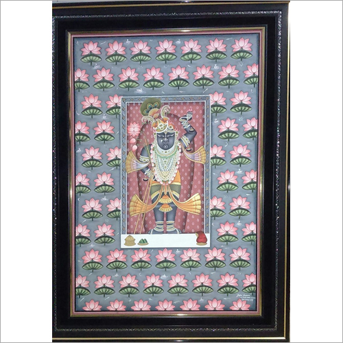Shrinath Ji Pichwai Cloth Painting