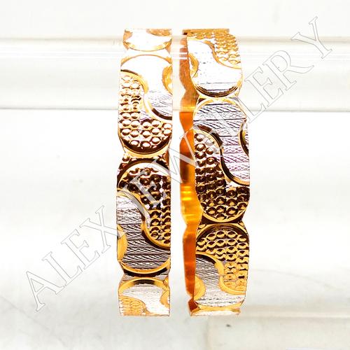 Latest new Design gold plated shagun Bangle