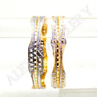 Latest Design Gold plated shagun Bangle
